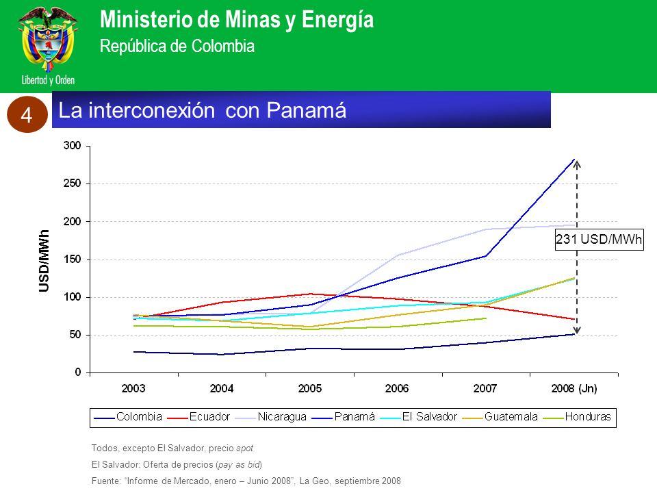 La interconexión con Panamá 4