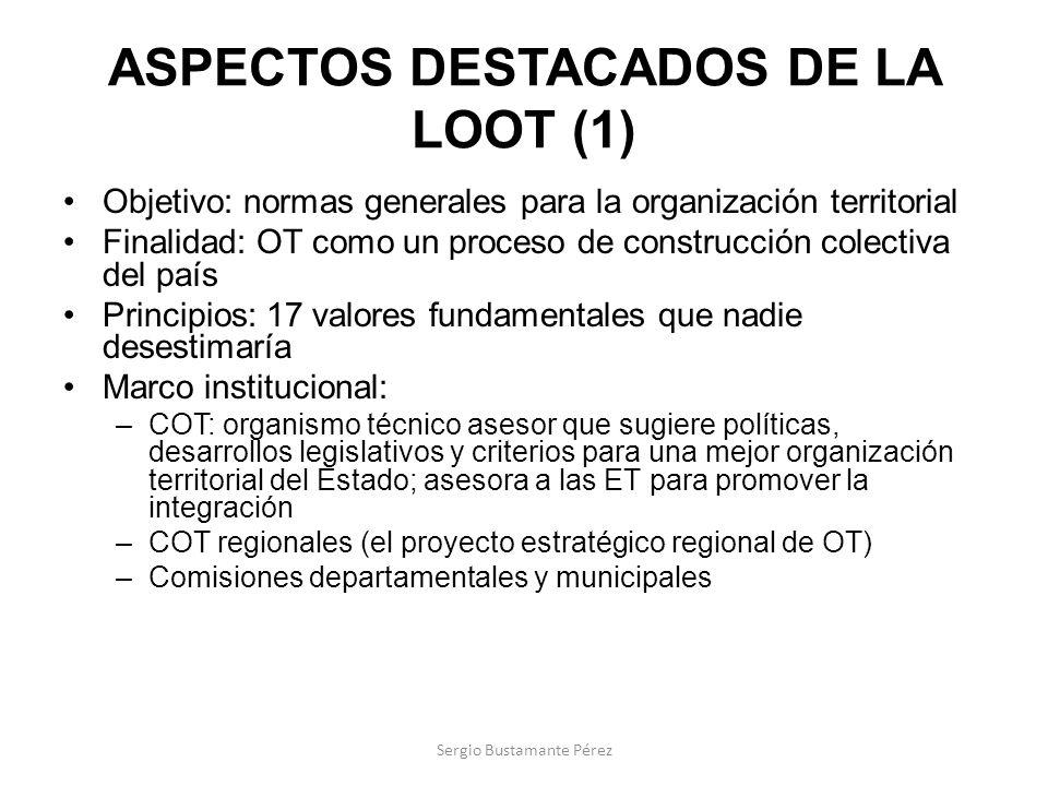 ASPECTOS DESTACADOS DE LA LOOT (1)
