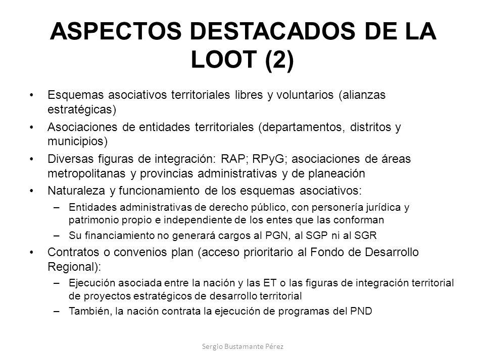 ASPECTOS DESTACADOS DE LA LOOT (2)