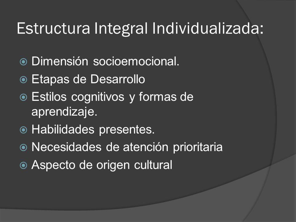 Estructura Integral Individualizada: