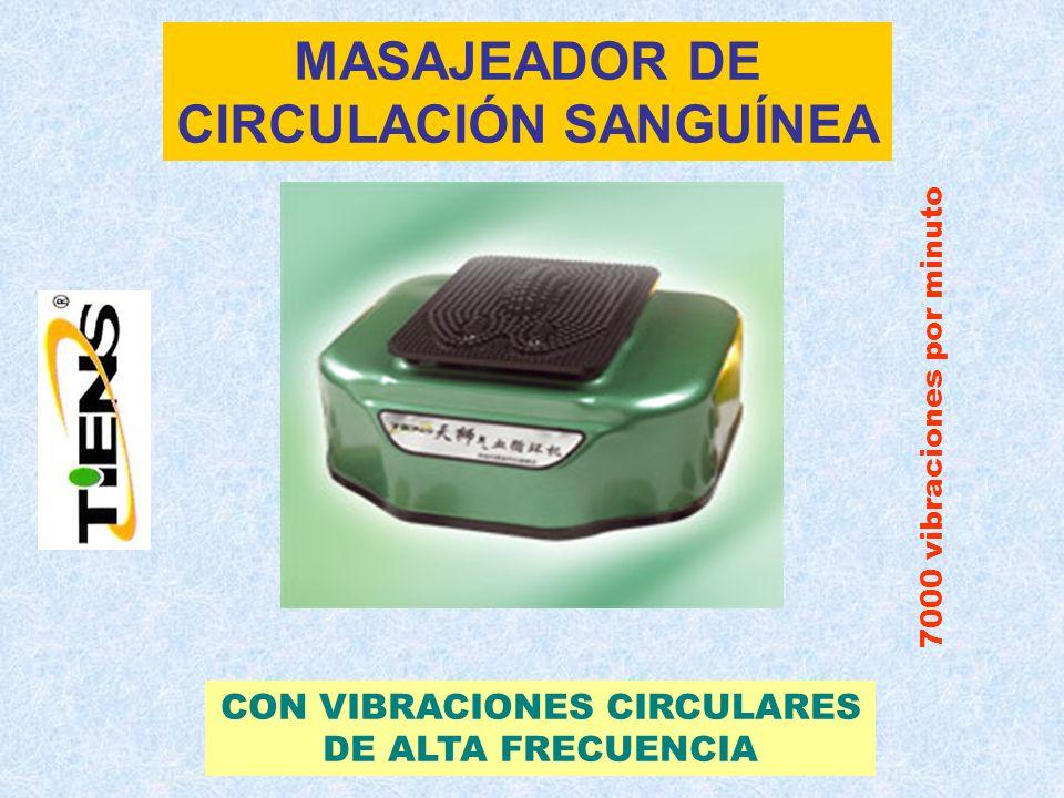 MASAJEADOR DE CIRCULACIÓN SANGUÍNEA