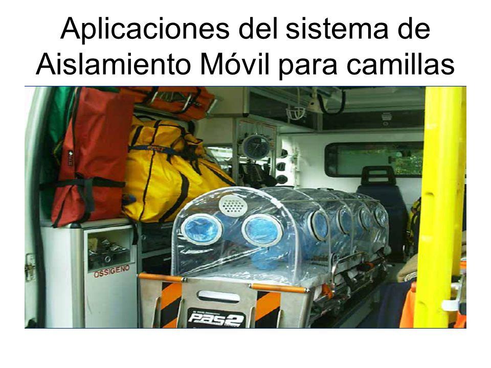 Aplicaciones del sistema de Aislamiento Móvil para camillas