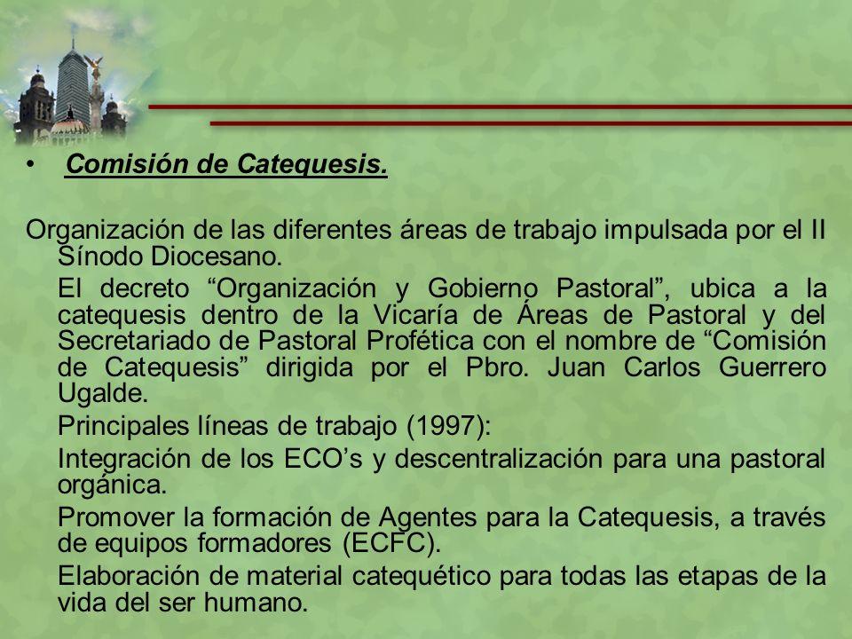 Comisión de Catequesis.