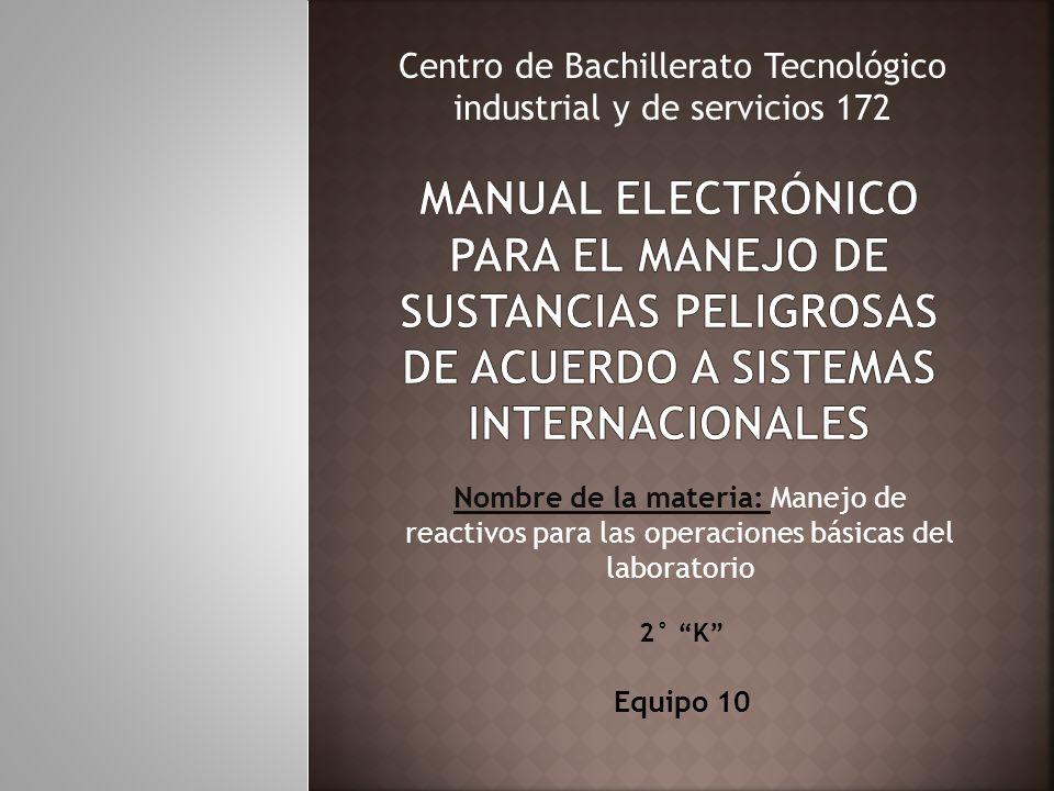 Centro de Bachillerato Tecnológico industrial y de servicios 172