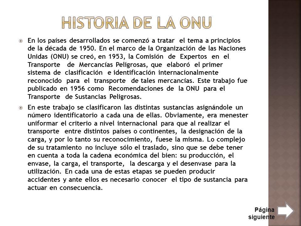 Historia de la onu