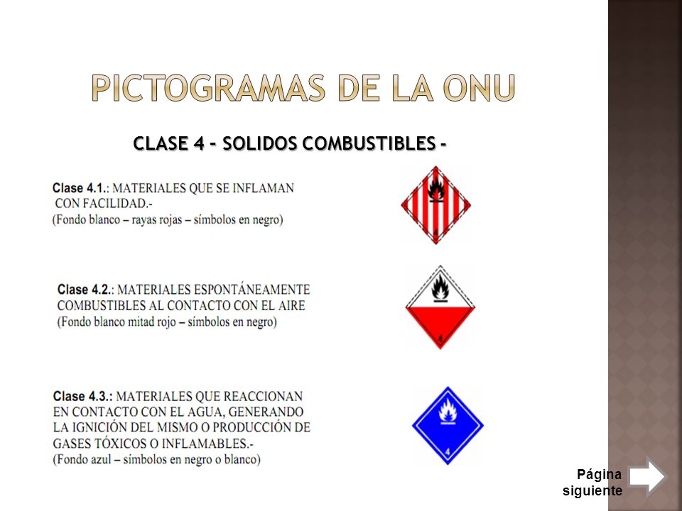 CLASE 4 – SOLIDOS COMBUSTIBLES -