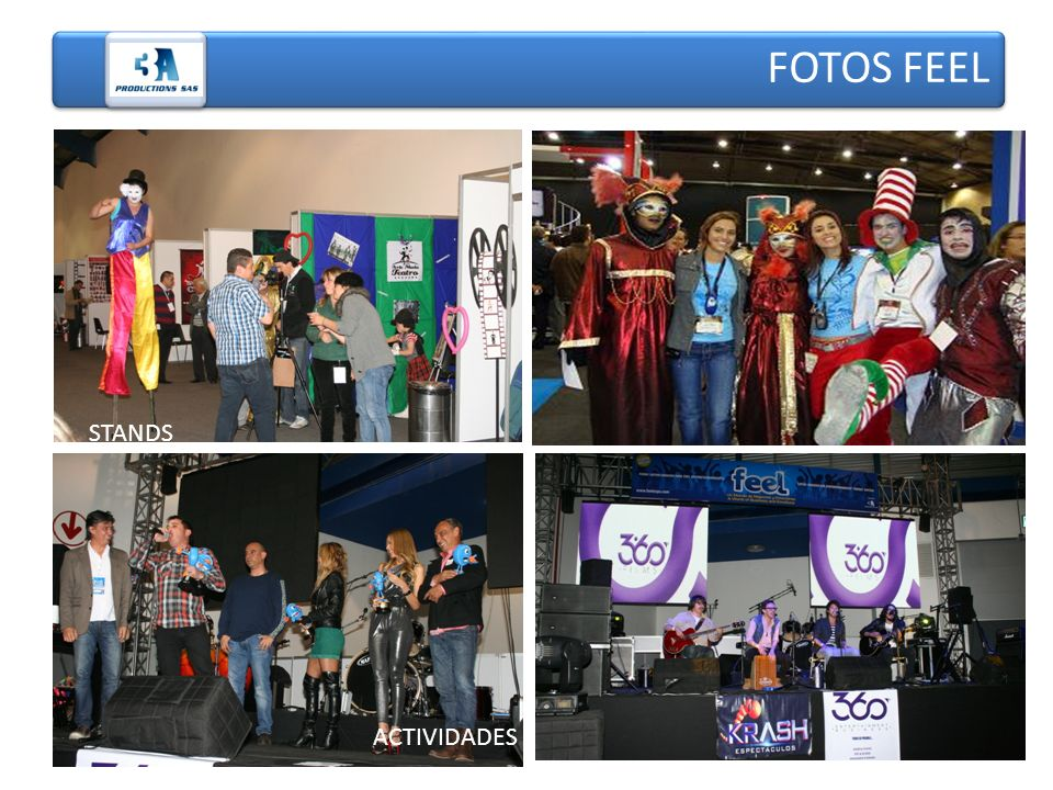 FOTOS FEEL PABELLONES STANDS ACTIVIDADES
