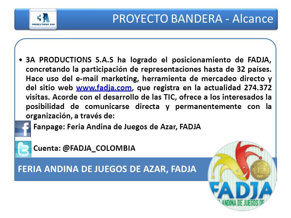 PROYECTO BANDERA - Alcance