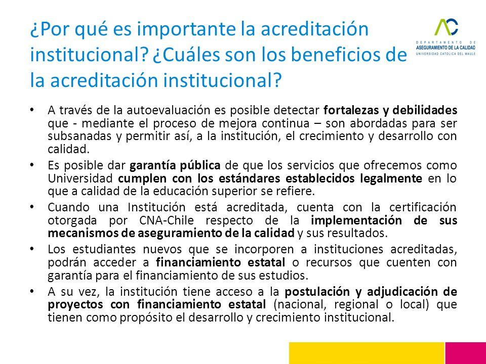 ¿Por qué es importante la acreditación institucional