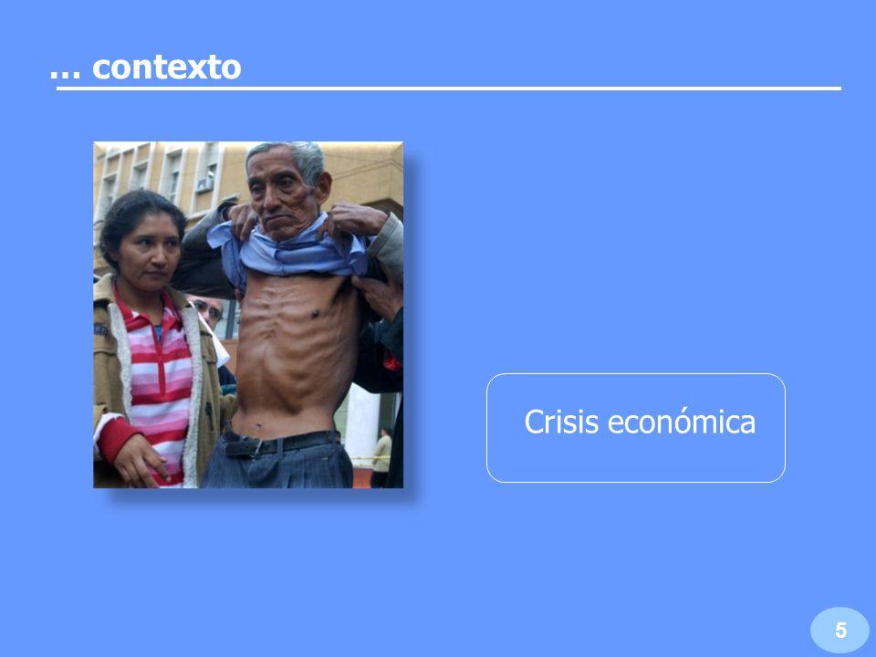 … contexto Crisis económica 5