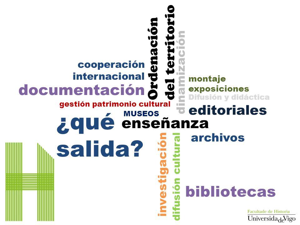 ¿qué salida documentación enseñanza bibliotecas del territorio
