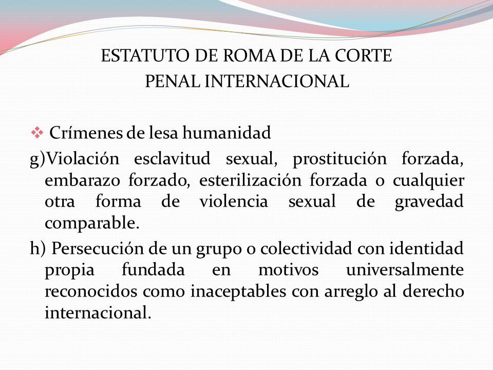 ESTATUTO DE ROMA DE LA CORTE