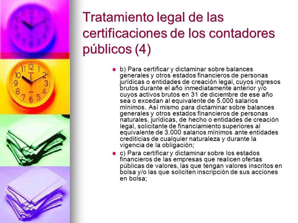 Tratamiento legal de las certificaciones de los contadores públicos (4)
