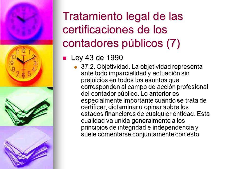 Tratamiento legal de las certificaciones de los contadores públicos (7)