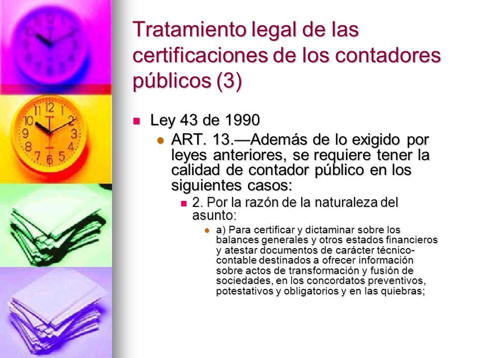 Tratamiento legal de las certificaciones de los contadores públicos (3)