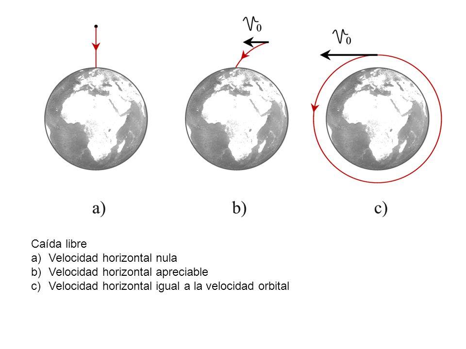 Caída libre Velocidad horizontal nula. Velocidad horizontal apreciable.