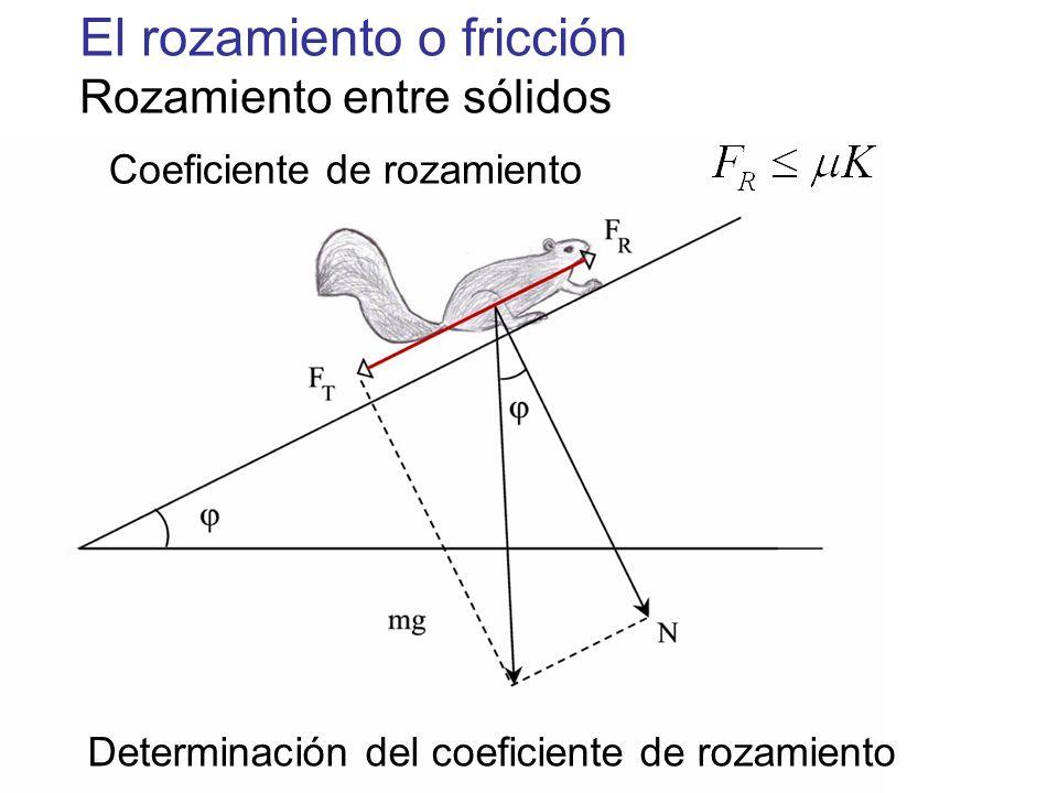 Coeficiente de rozamiento