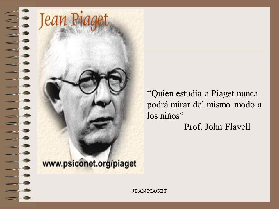 Quien estudia a Piaget nunca podrá mirar del mismo modo a los niños