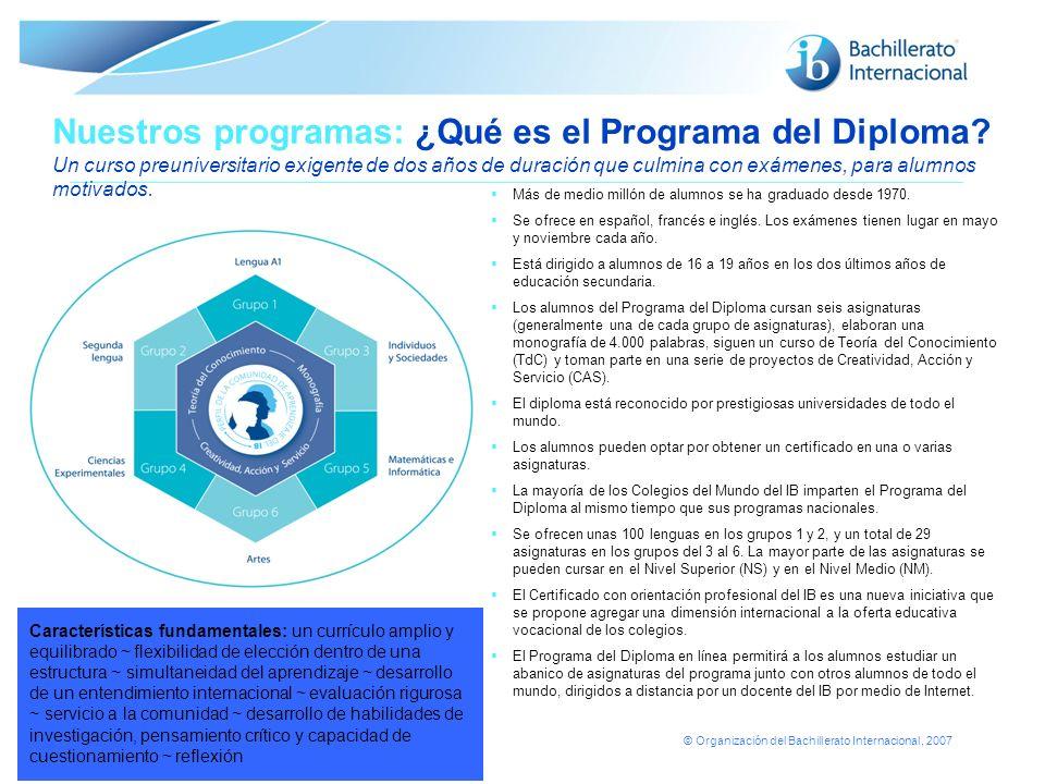 Nuestros programas: ¿Qué es el Programa del Diploma