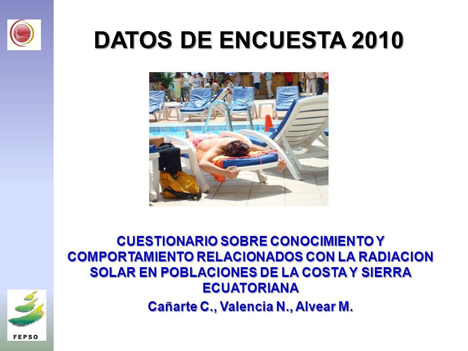 Cañarte C., Valencia N., Alvear M.