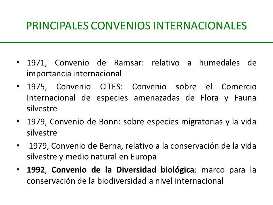 PRINCIPALES CONVENIOS INTERNACIONALES