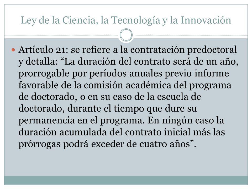 Ley de la Ciencia, la Tecnología y la Innovación