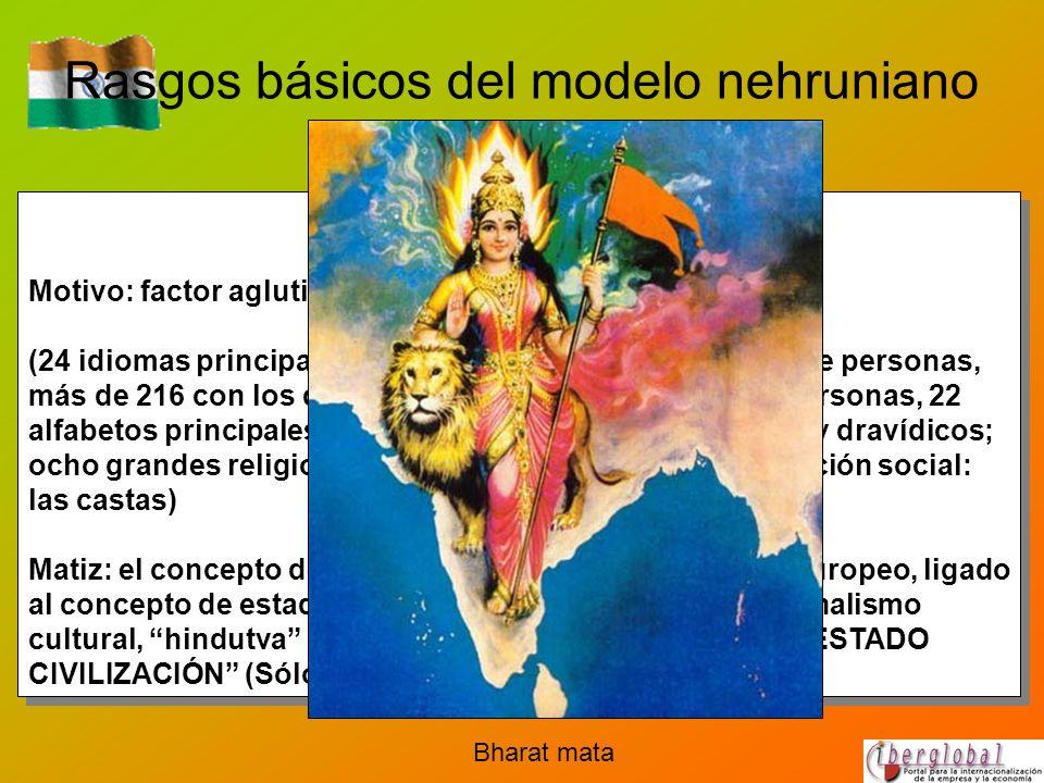 Rasgos básicos del modelo nehruniano