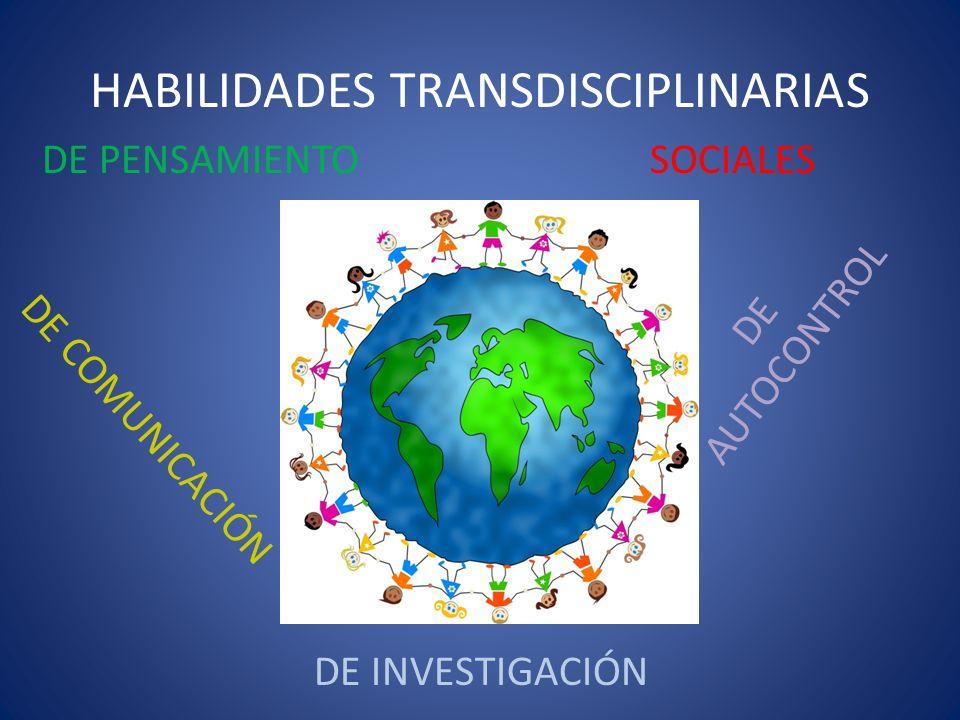 HABILIDADES TRANSDISCIPLINARIAS