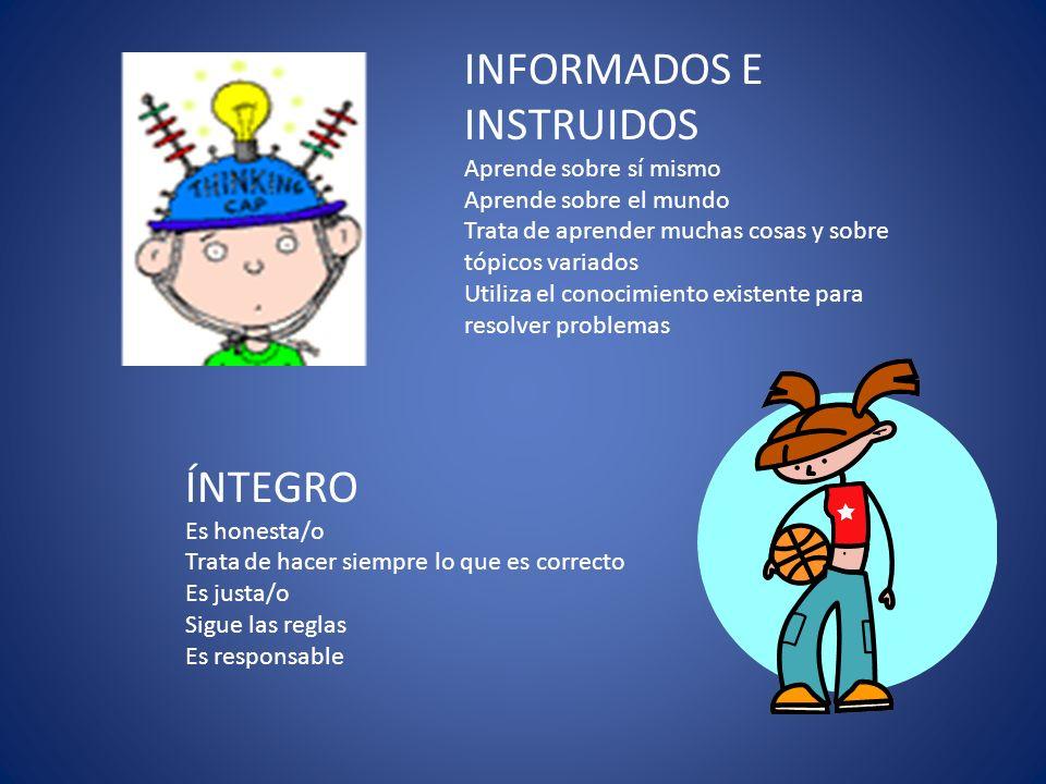 INFORMADOS E INSTRUIDOS