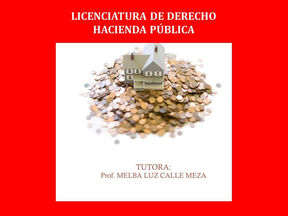 LICENCIATURA DE DERECHO