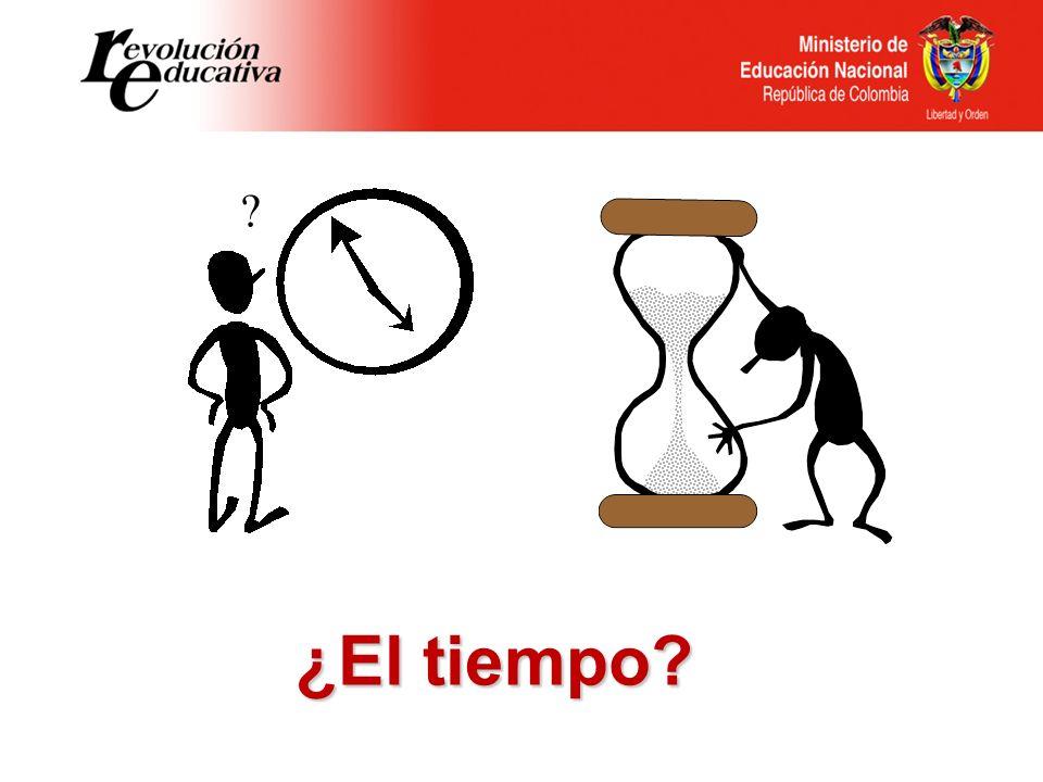 ¿El tiempo
