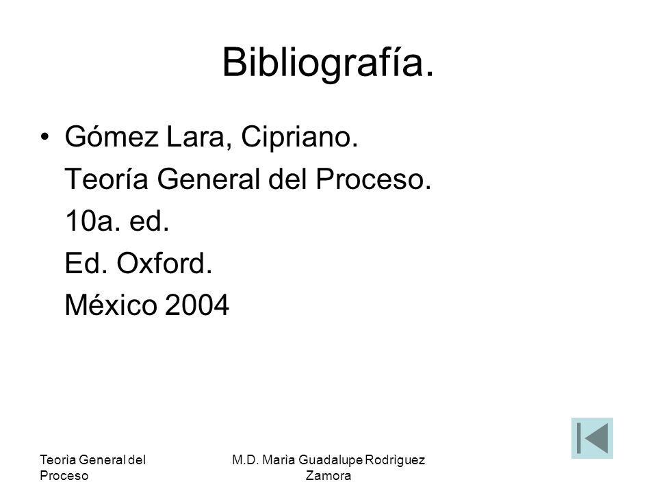 M.D. Marìa Guadalupe Rodrìguez Zamora