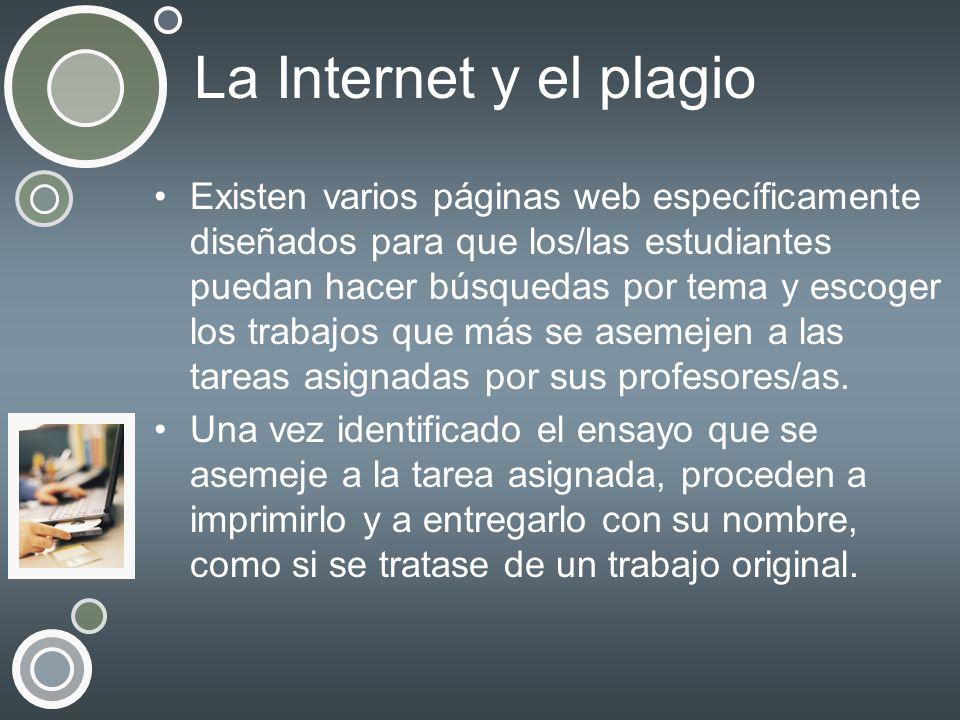 La Internet y el plagio