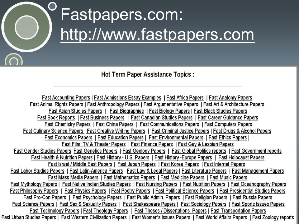 Fastpapers.com: http://www.fastpapers.com