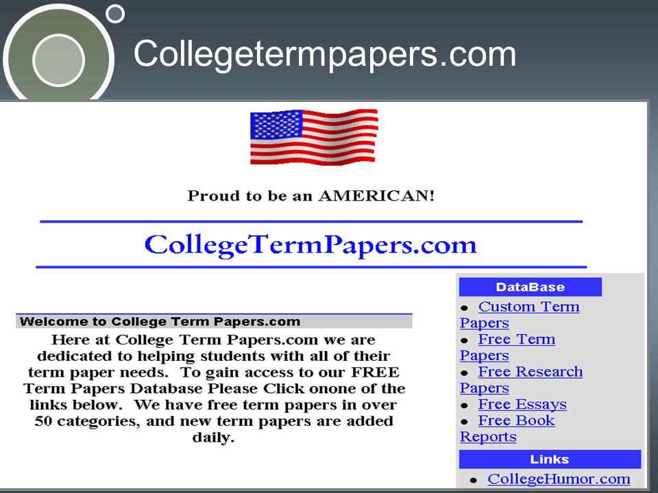 Collegetermpapers.com