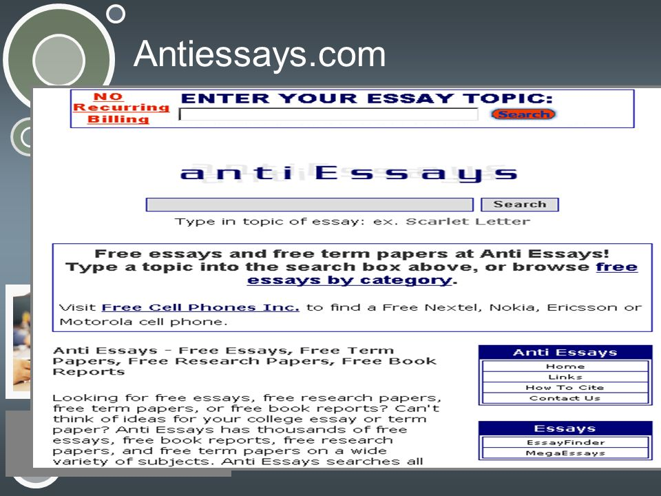 Antiessays.com
