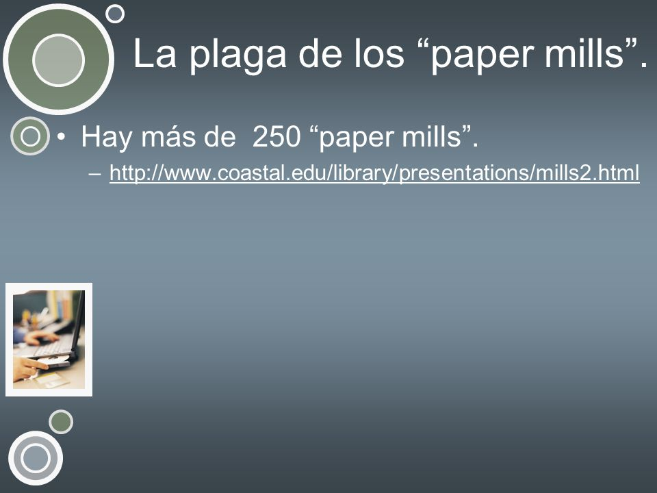 La plaga de los paper mills .