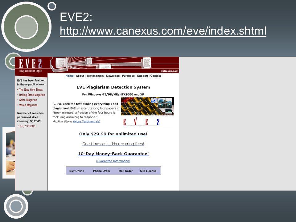 EVE2: http://www.canexus.com/eve/index.shtml