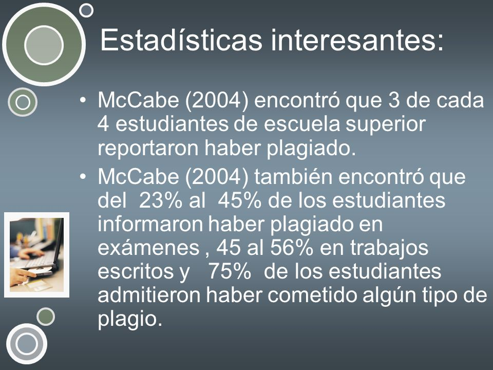 Estadísticas interesantes: