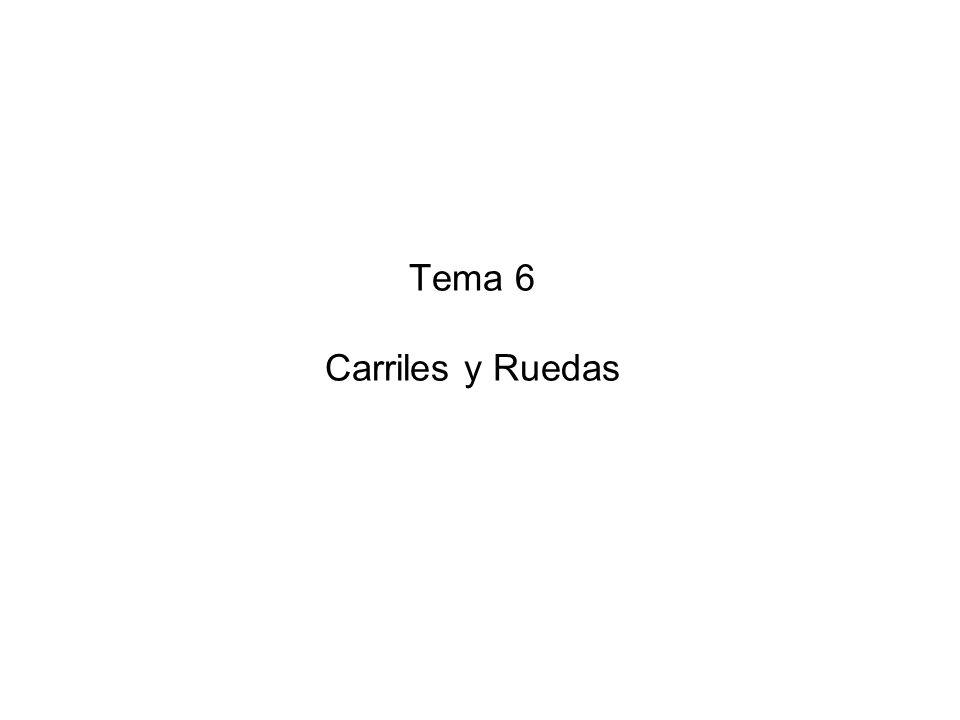 Tema 6 Carriles y Ruedas
