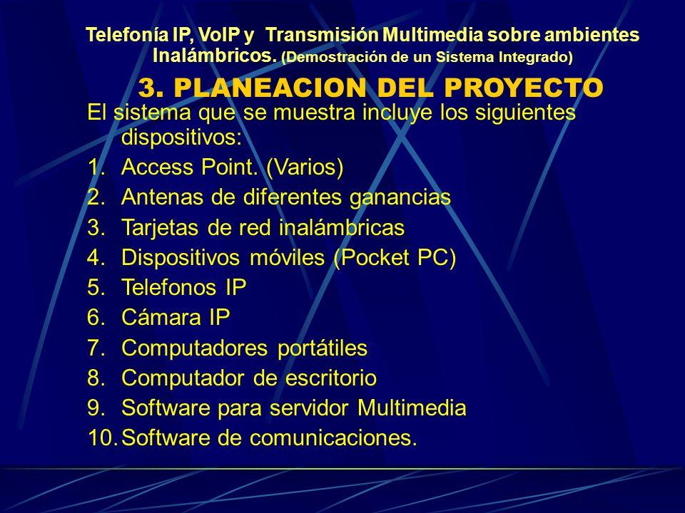 3. PLANEACION DEL PROYECTO
