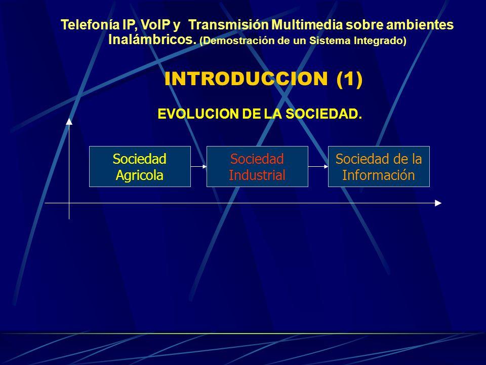 EVOLUCION DE LA SOCIEDAD.