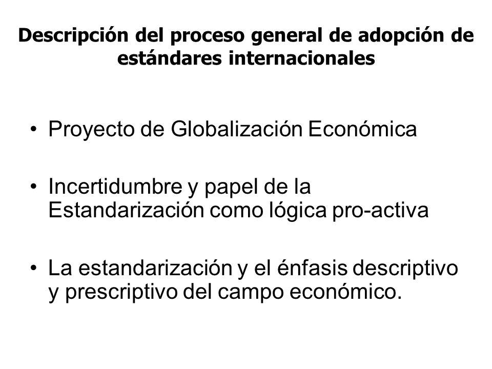 Proyecto de Globalización Económica