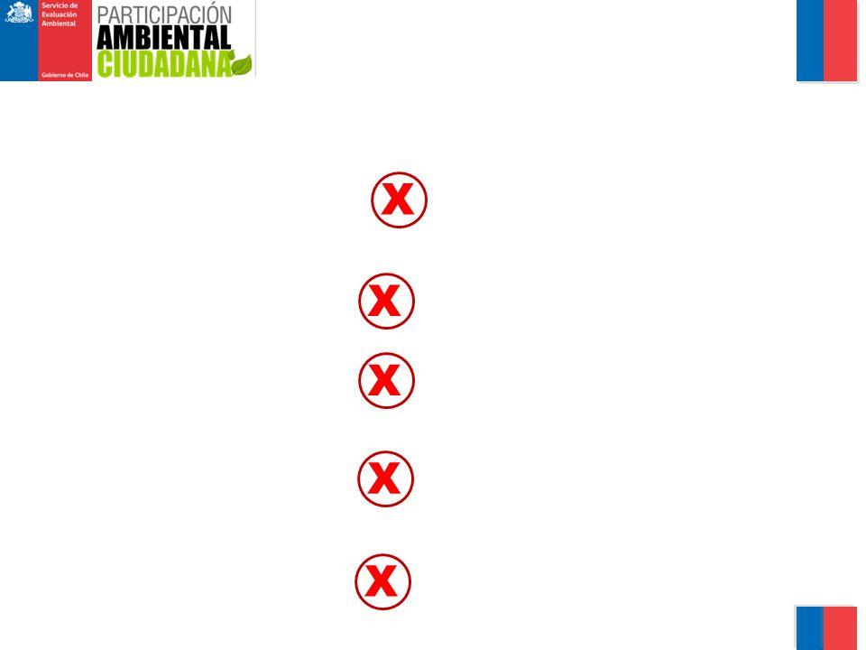 X X X X X CONSIDERACIONES PARA LA FORMULACIÓN DE OBSERVACIONES
