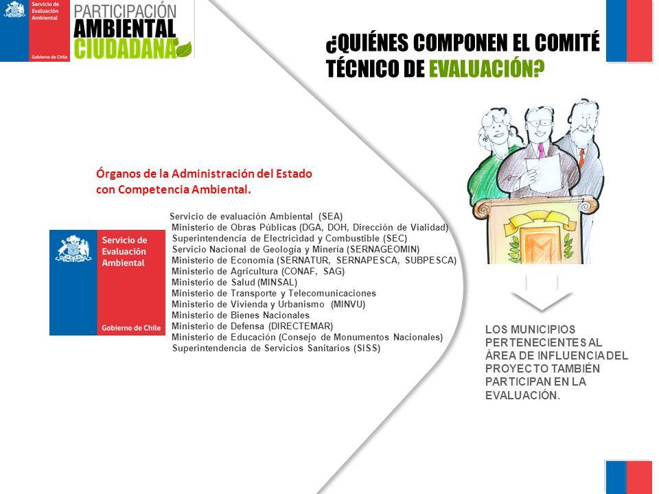 ¿QUIÉNES COMPONEN EL COMITÉ TÉCNICO DE EVALUACIÓN