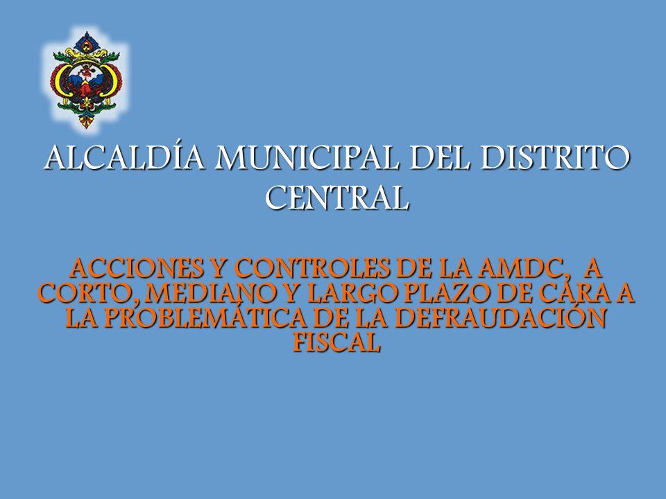 ALCALDÍA MUNICIPAL DEL DISTRITO CENTRAL