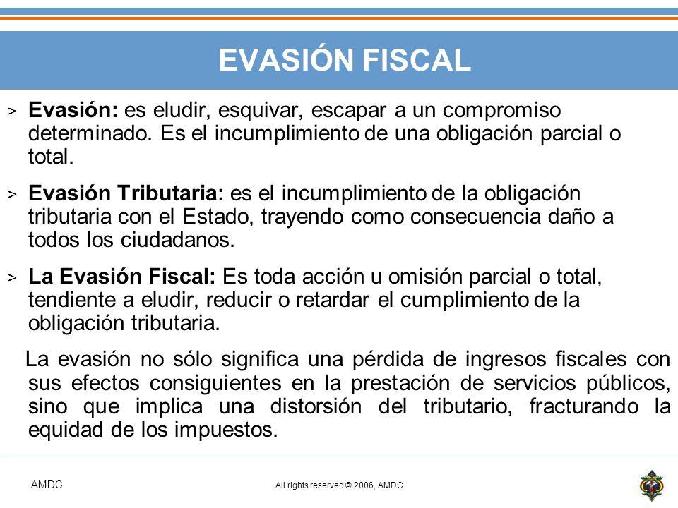 EVASIÓN FISCAL Evasión: es eludir, esquivar, escapar a un compromiso determinado. Es el incumplimiento de una obligación parcial o total.