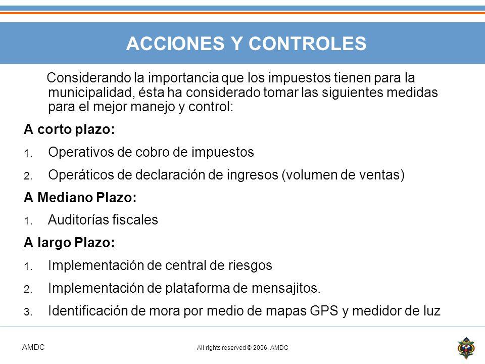 ACCIONES Y CONTROLES