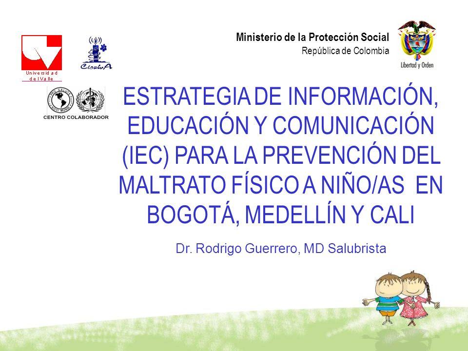 Dr. Rodrigo Guerrero, MD Salubrista