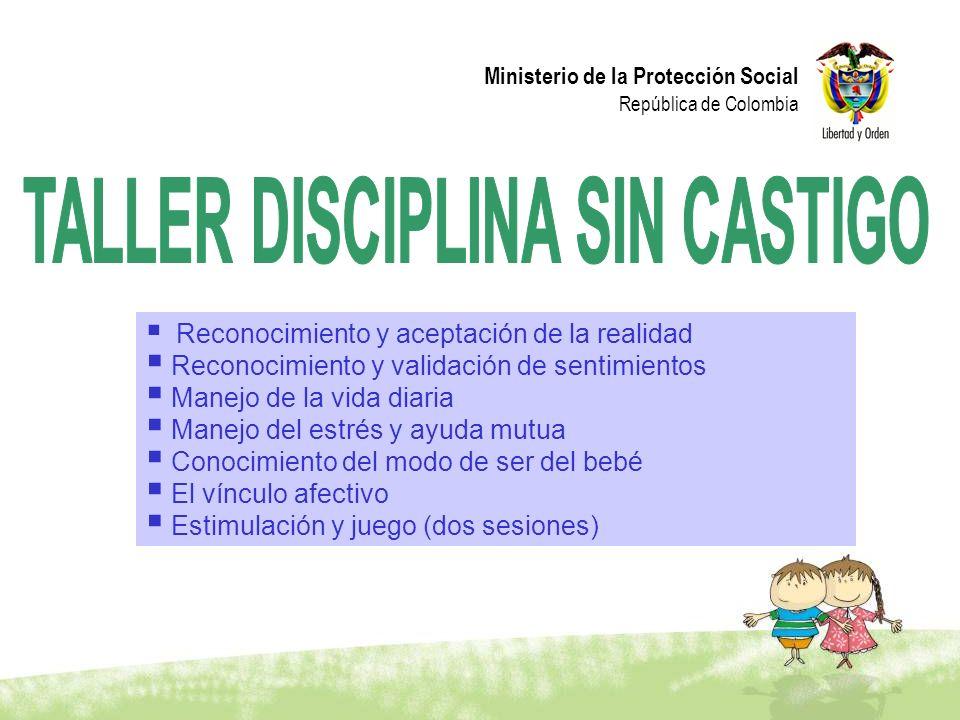 TALLER DISCIPLINA SIN CASTIGO